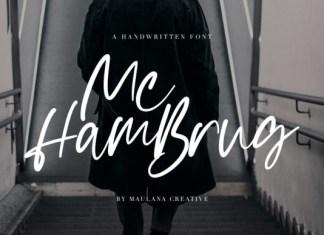 Mc Hambrug Font
