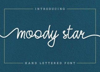 Moody Star Font