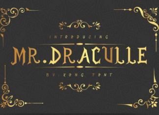 Mr.Draculle Font