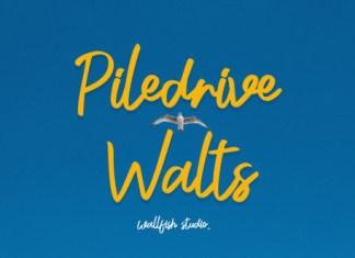Piledrive Walts Font
