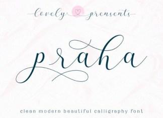 Praha Font