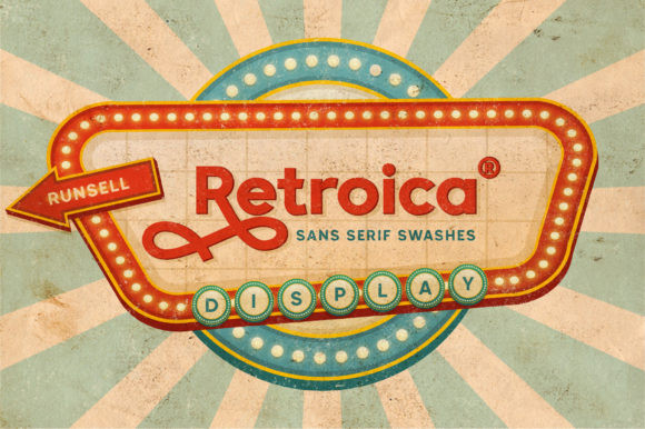 Retroica Font