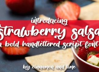 Strawberry Salsa Font