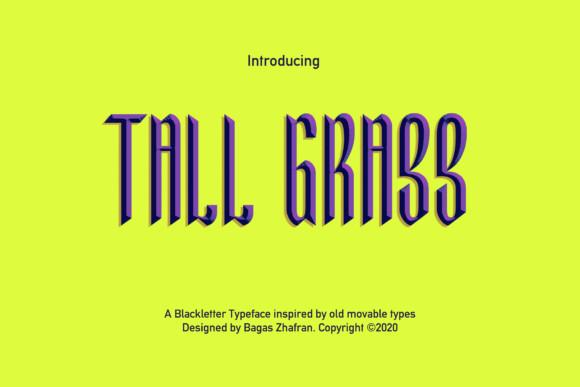 Tall Grass Font