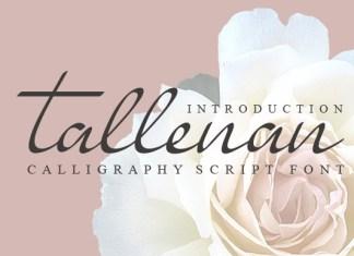 Tallenan Font