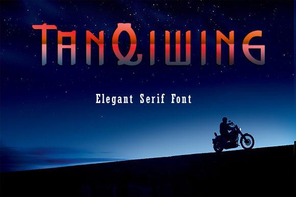 TanQiwing Font