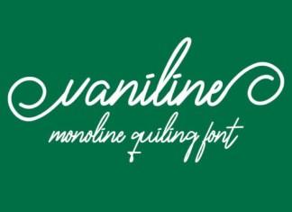 Vaniline Font