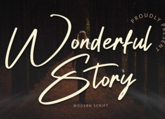 Wonderful Story Font