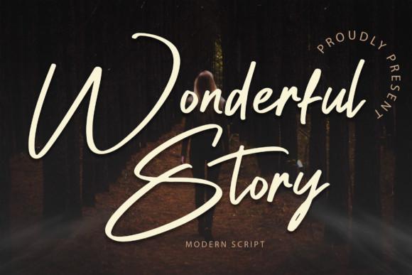 Wonderful Story Font
