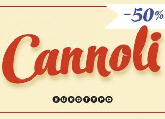 Cannoli Font