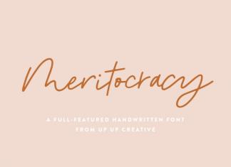 Meritocracy Font