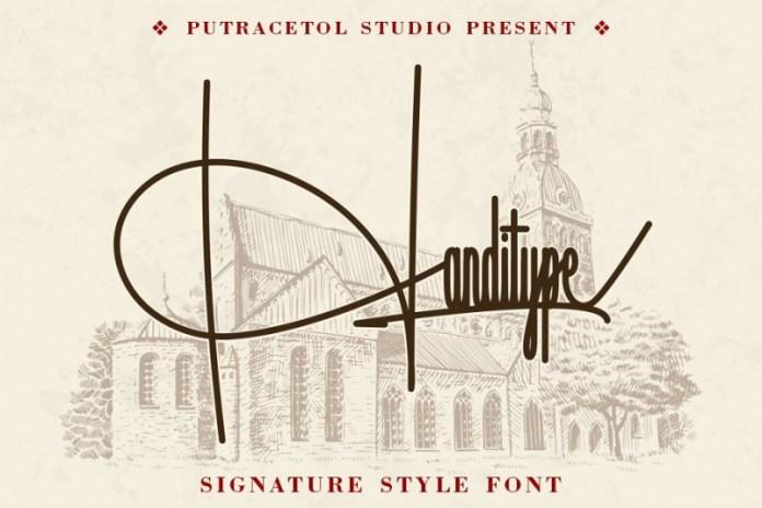 Handitype Font