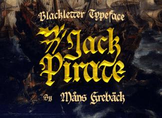 Jack Pirate Font