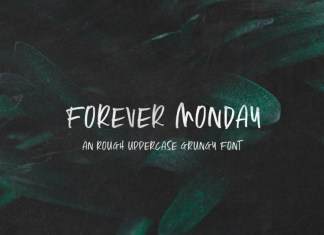 Forever Monday Font