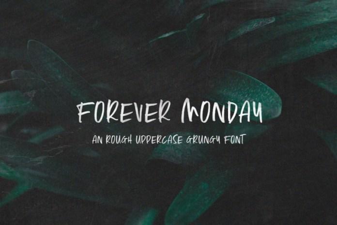 Forever Monday Font