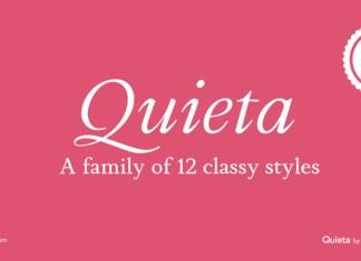 Quieta Font