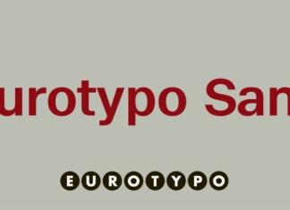 Eurotypo Font