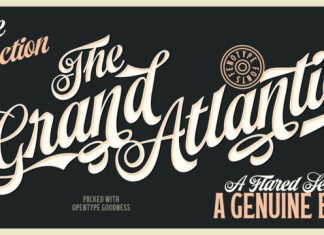 Grand Atlantic Font