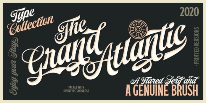 Grand Atlantic Font