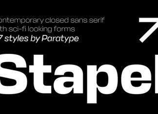 Stapel Font