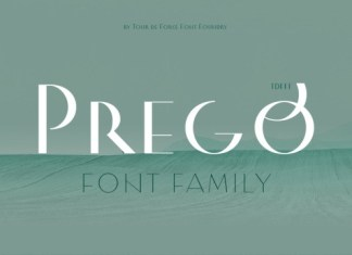 Prego Font