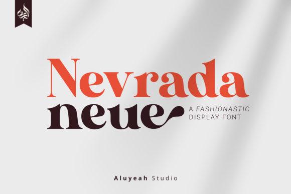 AL Nevrada Neue Font
