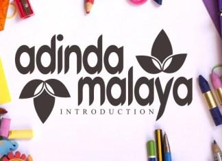 Adinda Malaya Font