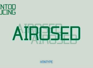 Airosed Font