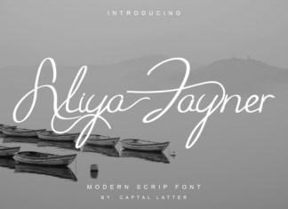 Aliya Jayner Font