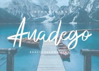 Anadego Font