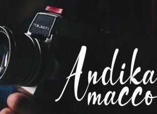 Andika Macco Font