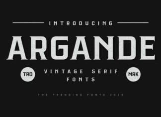 Argande Font