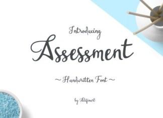 Assessment Font