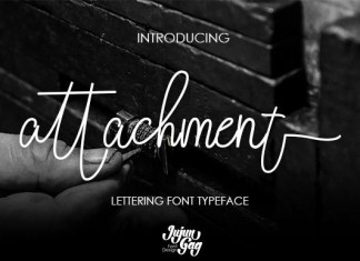 Attachment Font