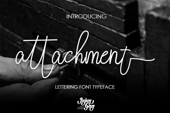 Attachment Font