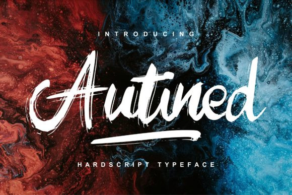 Autined Font