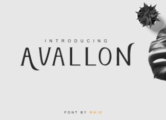 Avallon Font