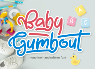 Baby Gumbout Font