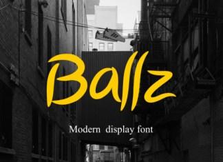 Ballz Font