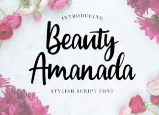 Beauty Amanda Font