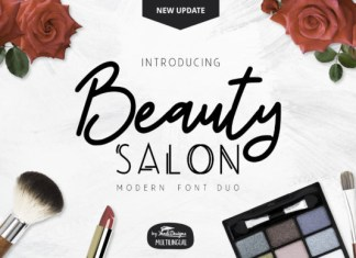 Beauty Salon Font