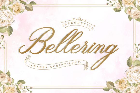 Bellering Font