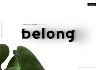 Belong Font