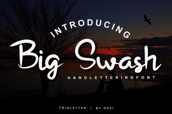 Big Swash Font