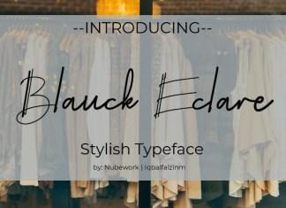 Blanck Eclare Font