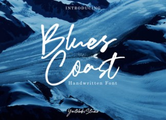 Blues Coast Font