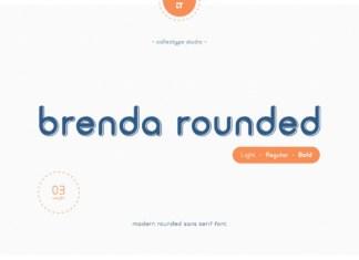 Brenda Rounded Font