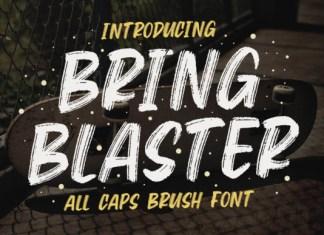 Bring Blaster Font