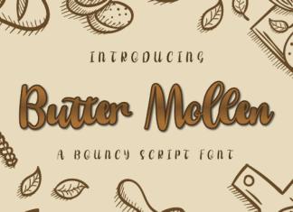 Butter Mollen Font