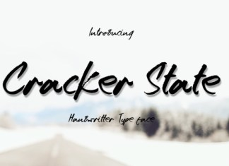 Cracker State Font